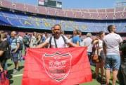 اهتزاز پرچم پرسپولیس در ورزشگاه های اروپایی