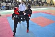 مسابقات کونگ فو قهرمانی استان البرز در فردیس آغازشد