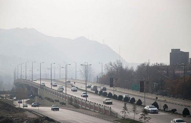 آلودگی هوای البرز تا پایان هفته ادامه دارد