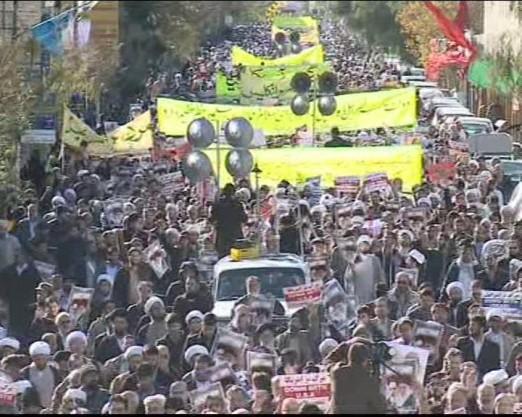 فریاد دوباره ملت غیور ایران بر سر استکبار