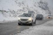 بارش برف و باران در سراسر استان البرز