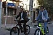 تاکید فرماندار به استفاده کارمندان از دوچرخه