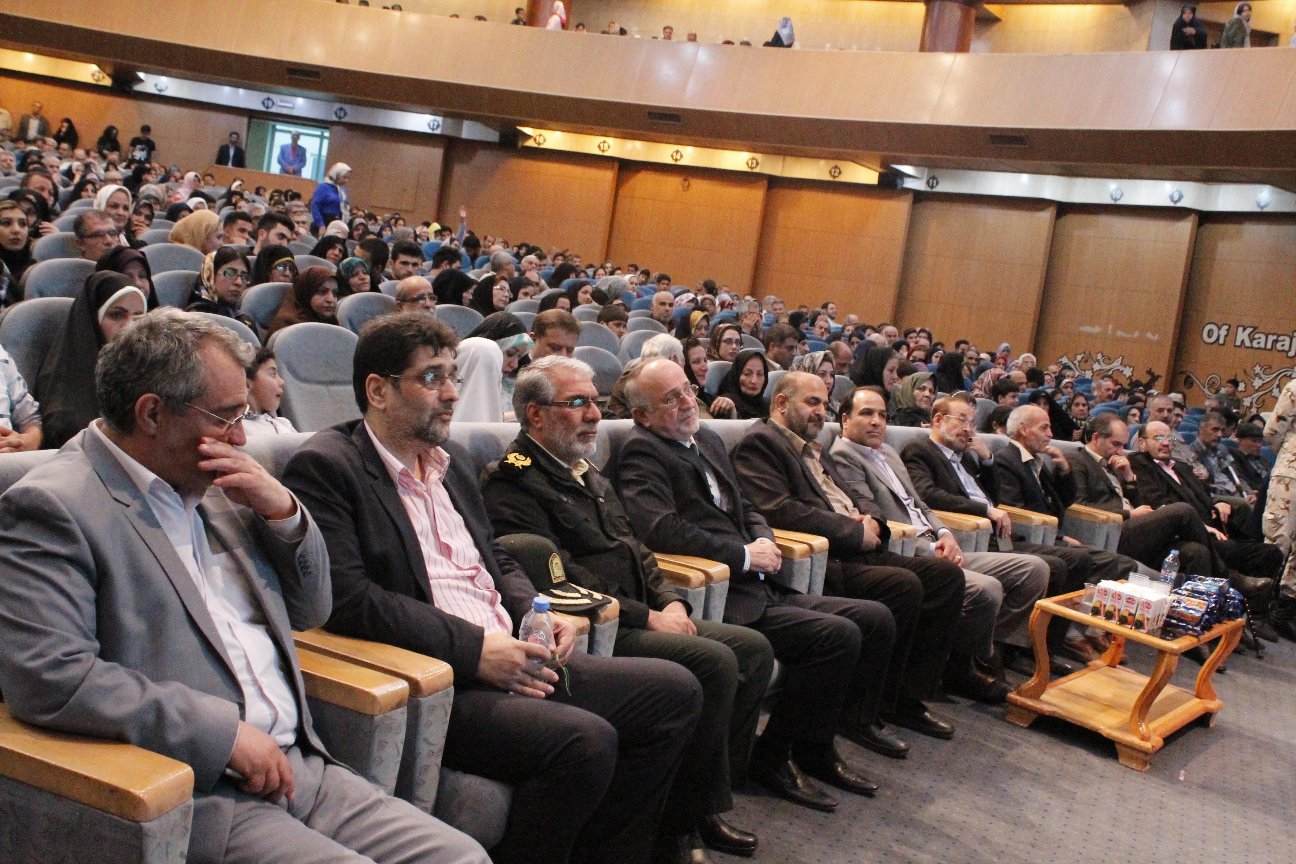 مراسم بزرگداشت روز جانباز در تالار شهیدان نژاد فلاح کرج