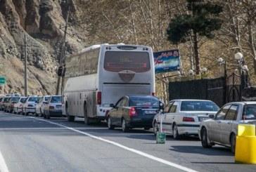 محدودیت ترافیکی در کرج- چالوس اعمال می شود