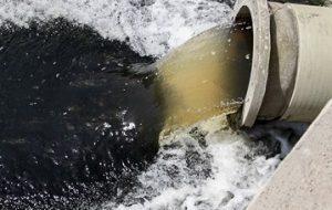 ورود فاضلاب خاکستری به کانال جمع آوری آبهای سطحی