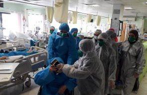 ثبت ۱۴ فوتی و بستری ۱۳۶ بیمار بدحال