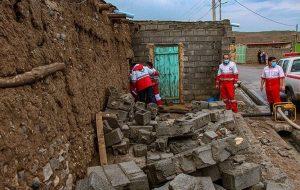 سیل در یکی از روستاهای محور کرج – چالوس خسارت جانی نداشت/آسیب به چند خودرو